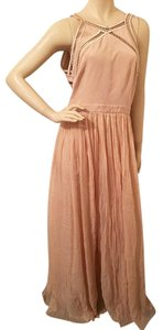 Rebecca Taylor Embellished Silk Gown Gown Sample Piece Runway Gown Dress