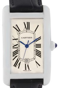 Cartier Cartier Tank Americaine Large 18K White Gold Watch W2603256