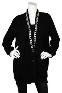 Givenchy Cardigan Chain-link Sweater