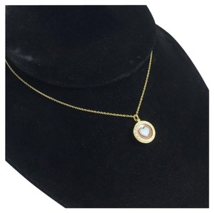 Ippolita LOLLIPOP(R) 18K GOLD HEART CAMEO NECKLACE WITH DIAMONDS