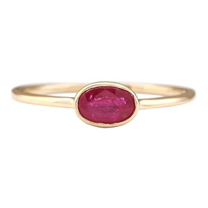 Fashion Strada Ruby Diamond Ring