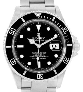 Rolex Rolex Submariner Mens Stainless Steel Automatic Date Watch 16610