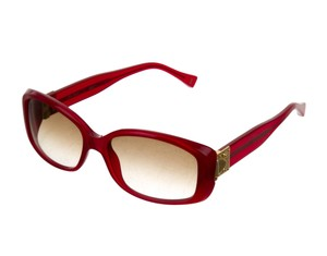Louis Vuitton Red acetate Louis Vuitton sunglasses