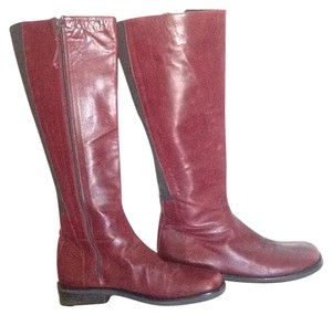 Donald J. Pliner Dark Red/Burgundy Boots