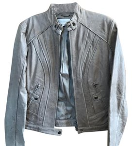 Costa Blanca Taupe Leather Jacket