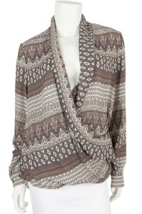 L'AGENCE Top Gray & Taupe