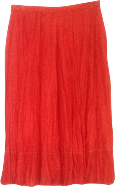 Coldwater Creek Skirt Coral