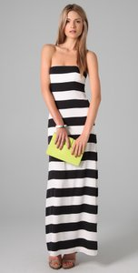 Alice + Olivia & Strapless Maxi Maxi Maxi Striped Dress
