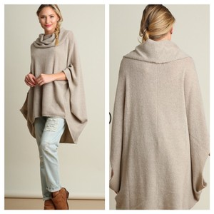 Other Umgee Cowl Neck Sweater Cape