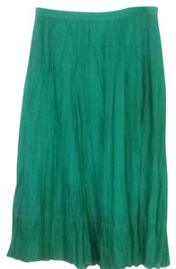 Coldwater Creek Skirt Green