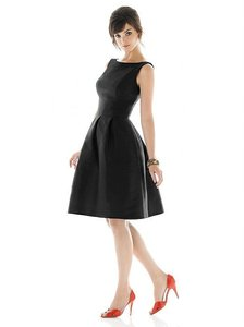 Alfred Sung Black Alfred Sung Style D440 Dress