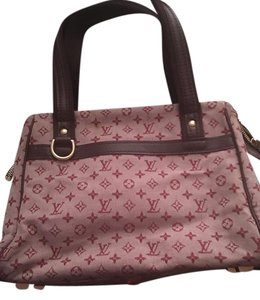 Louis Vuitton Tote in Pink and Burgundy