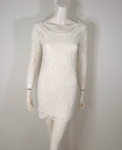 Express Lace 3/4 Sleeve Dress