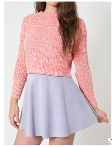 American Apparel Mini Skirt Lavender
