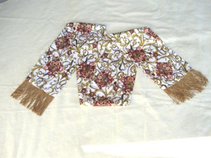 The Specialty House Exquisite Silk Scarf with Fringe