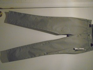 T Tahari Skinny Pants Light/ Light Medium Grey
