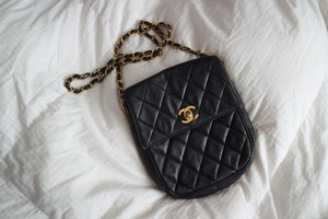Chanel Quilted Ghw Cross Body Bag