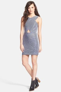Topshop short dress blue on Tradesy