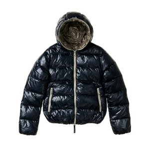 Duvetica Down Warm Navy Jacket