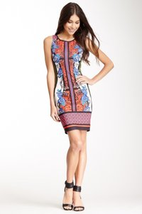 Meghan short dress Red Print on Tradesy