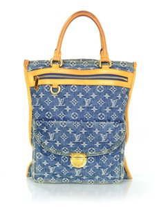 Louis Vuitton Denim Monogram Tote