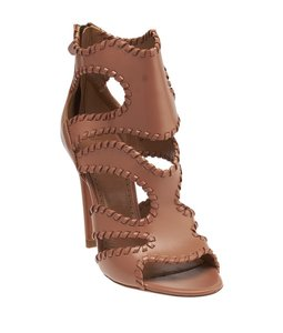 ALAA Alaia Leather Brown Sandals