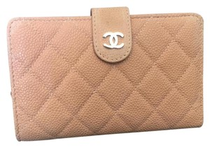 Chanel Chanel wallet Bi-Fold like new nude pink