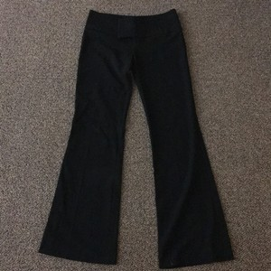 Necessary Objects Wide Leg Pants Black