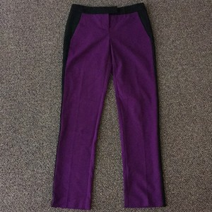 Vince Camuto Straight Pants Purple/black