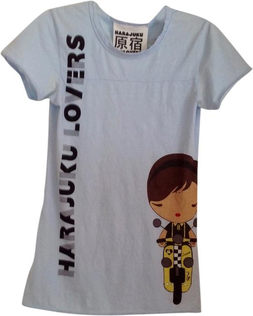 Item - Baby Blue Tee Shirt Size 4 (S)