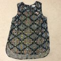Anthropologie Anthro Top Black and multi