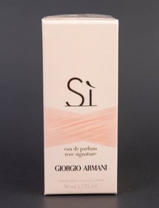 Giorgio Armani Si Rose Signature Eau de Parfum Spray 1.7oz/50ml NEW *DISCONTINUED*