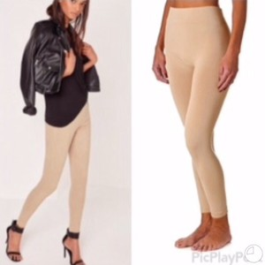 Chic Fashion Khaki Leggings