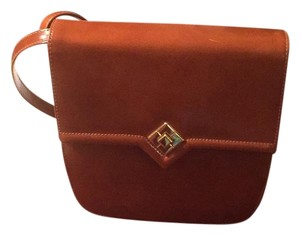 Susan Gail Walnut Messenger Bag