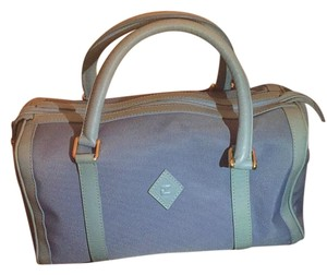 Ted Lapidus Satchel in Baby Blue