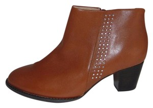 Vionic Orthaheel Georgia Ankle W Wide Brown Boots