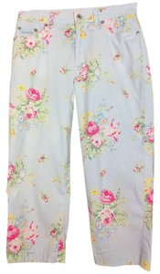 Ralph Lauren Floral Capris multi color