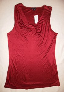 Banana Republic Camisole Large Tall Top Cranberry Red