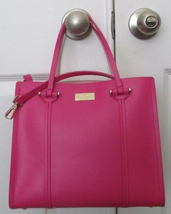 Kate Spade New With Tag Satchel in sweatheartpink/rose jade