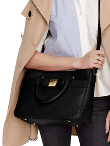 6a06143a3ae6 Kate Spade Bow Long Strap Satchel in Black