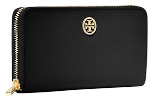 Tory Burch ROBINSON ZIP CONTINENTAL WALLET SAFFIANO LEATHER