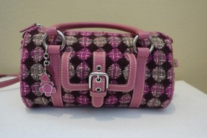 Isabella Fiore Satchel in Pink