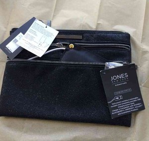 Jones New York Designer Pouch Iphone Charger Black Clutch