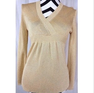 Ann Taylor LOFT Metallic Nwt Sweater