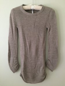 Souchi Textured Knit Soft Fitted Sweater