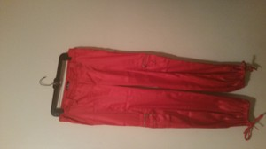 Judy 's Village Baggy Pants Red