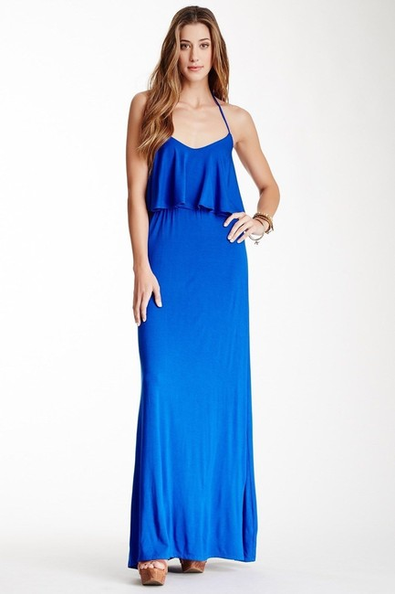 Preload https://item1.tradesy.com/images/go-couture-royal-layered-halter-maxi-sizel-long-cocktail-dress-size-16-xl-plus-0x-19889450-0-0.jpg?width=400&height=650