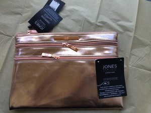 Jones New York Designer Pouch Rose gold Clutch