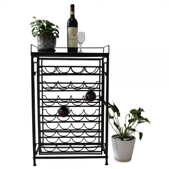 Preload https://item5.tradesy.com/images/6-tier-metal-wine-display-rack-with-mosaic-top-holds-24-bottles-19889479-0-1.jpg?width=440&height=440