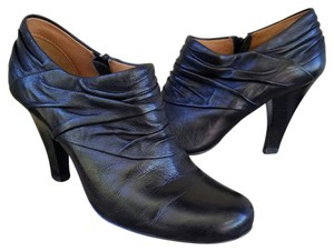 Söfft #sofft #florina #leather #booties #drape Black Boots